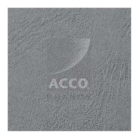 GBC LEATHERGRAIN COPERTINA IN SIMILPELLE 210X297 mm A4 COL. GRIG
