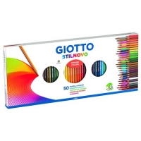GIOTTO STILNOVO PASTELLO 3.3 mm CON TEMPERAMATITE COLORI ASSORTI
