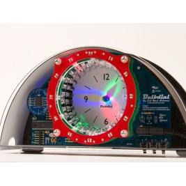 Bulbdial Clock Kit - LED desk/mantle shadow clock soldering kit