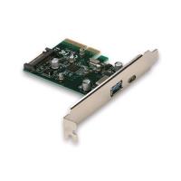 I-TEC PCE2U31AC SCHEDA DI INTERFACCIA PCI-E GEN2 10 Gbps USB-A 3