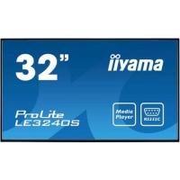 "IIYAMA LE3240S-B1 32"" LED FORMATO 116:9 CONTRASTO 1.400:1 1xVGA"