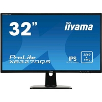 "IIYAMA PROLITE XB3270QS-B1 31.5"" WIDE QUAD HD LED MONITOR PC"