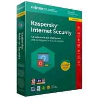 KASPERSKY INTERNET SECURITY 2018 LICENZA PER 3 DISPOSITIVI PER 1