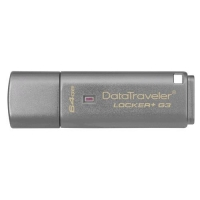 KINGSTON DATATRAVELER LOCKER+ G3 32GB USB 3.0 COLORE ARGENTO
