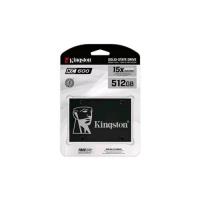 """KINGSTON KC600 SSD 512GB SATA III 2.5"""" 3D TLC"""