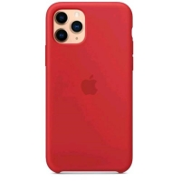APPLE iPHONE 11 PRO COVER IN SILICONE COLORE ROSSO