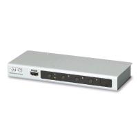 ATEN VS481B SWITCH 4 PORTE HDMI 4K IR CON TELECOMANDO SILVER