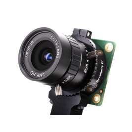 6mm 3MP Wide Angle Lens for Raspberry Pi HQ Camera