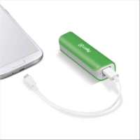 CELLY POWER BANK 2.600mAh 1xPORTA USB 1A COLORE VERDE/BIANCO
