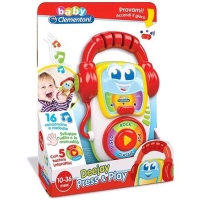 CLEMENTONI BABY DEEJAY PRESS PLAY GIOCO MUSICALE 1-3 ANNI