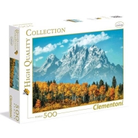 CLEMENTONI GRAND TETON IN FALL HIGH QUALITY COLLECTION PUZZLE MU