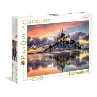 CLEMENTONI MONT SAINT-MICHEL HIGH QUALITY COLLECTION PUZZLE 1.00