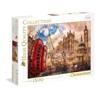 CLEMENTONI VINTAGE LONDON PUZZLE 1.500 PEZZI