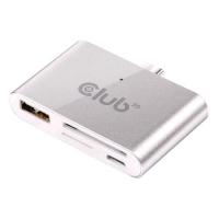 CLUB 3D CSV-1590 USB TYPE C SMART READER USB OTG USB3.0/MICROUSB