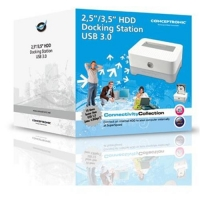 "CONCEPTRONIC 1100025 DOCKING STATION COMPATIBILE HDD SATA 2.5""/3"