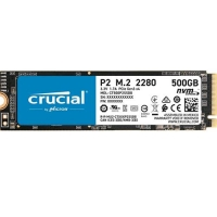 CRUCIAL P2 500GB M.2 2280 NVMe PCI EXPRESS 3.0