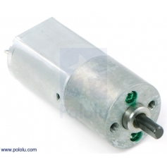 25:1 Metal Gearmotor 20Dx44L mm