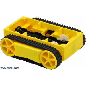 RP5 Tracked Chassis Yellow