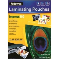FELLOWES IMPRESS100 POUCHES LUCIDE A4 100 MY COL. TRASPARENTE CO
