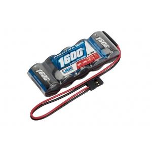XTEC Batteria RX 1600 mA NiMh 6V in linea spina JR