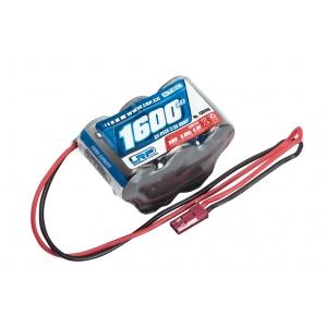 XTEC Batteria RX 1600 mA NiMh 6V a PIRAMIDE spina BEC