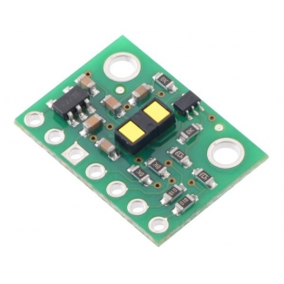 VL53L1X Time-of-Flight Distance Sensor Carrier with Voltage Regu