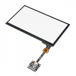Qwiic Capacitive Touch Panel - 7 in